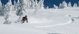 Skiing at Whistler Blackcomb